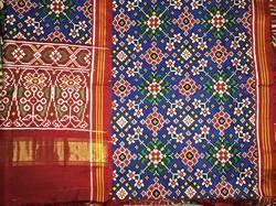 Traditional Patola Saree, Length: 6 m
