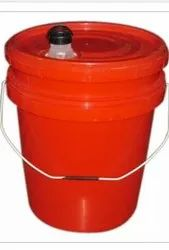 Red Oil HDPE Bucket
