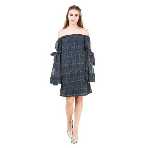 e2fc197e2d319e Girls Cotton Black Designer One Piece Western Dress