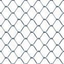 Silver Galvanized Iron Diamond Shape Chain Link Fencing Mesh