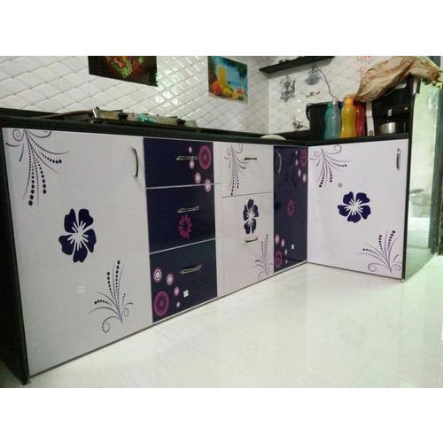 Laminated Modular Kitchen At Rs 690 Square Feet: Modular PVC Kitchen At Rs 650 /square Feet