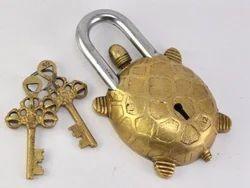 Traditional Brass Padlocks with Two Keys