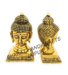 Metal Golden Plated Buddha Head