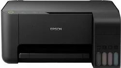 Colored Epson Multifunction Printer EcoTank L3110 All-in-One Ink Tank, Supported Paper Size: A4