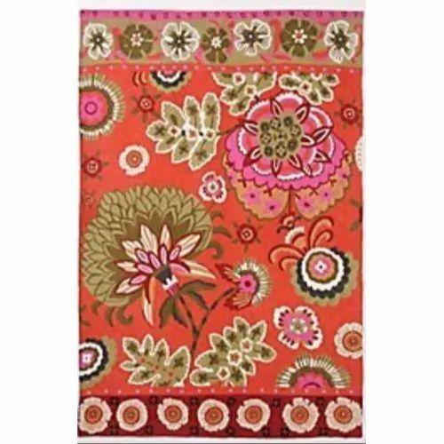 Modern Art Gallery Crewel Wool Rugs