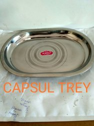 CAPSULE TRAY OR SERVING TRAY