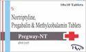 Nortriptyline Pregabalin & Mecobalamin Tablets