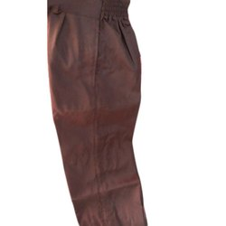 Cotton Brown Boys School Pant