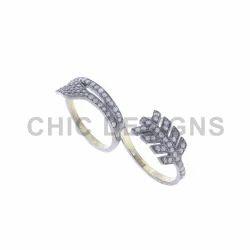 Pave Diamond Arrow Designs Ring