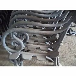 Polished Cast Iron Chairs