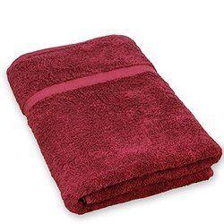 Maroon Turkey Towel