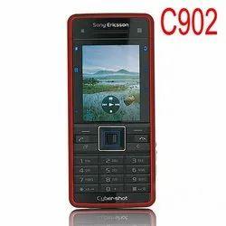 Cyber Mild Steel Refurbished Sony Ericsson C902 (Red), Single Sim, 107 Gms