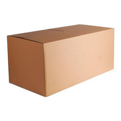 Rectangular Brown Corrugated Packaging Carton Box