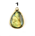 Labradorite Gemstone Pendants
