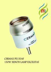 PE150AF Excelitas Cermax Xenon Short Arc Ceramic Body Parabolic Lamp