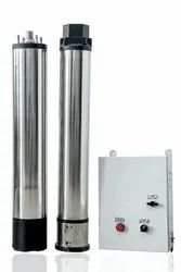 5 HP AC Solar CI Submersible Pumps with Controller