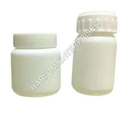 HDPE Cylinder Tablet Bottle