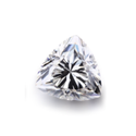 Trillion Cut DEF Moissanite Diamond