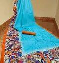 Digital Printed Handloom Silk Saree