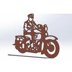 Metal Corporate Gift Items Cutting Service, Client Side, Mild Steel Cutting Methods: Laser Cutting