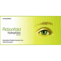 Hydrophobic Foldable Action Intraocular Lens