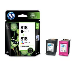 Hp 818 Combo-Pack Black/Tricolor Ink Cartridge
