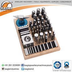Jewellery Tools 55 Pcs Dapping Set