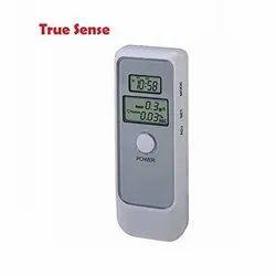 True Sense Portable Digital LCD Display Breath Alcohol Tester Police Breathalyzer Analyser Detector