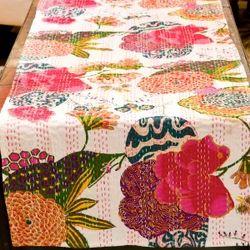 Craftola Printed Kantha Table Runner