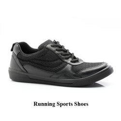 Black and Black Mesh Unisex Sports Shoes, Size: 6 and 11