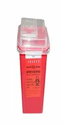 Medical Plastic Sharps Container Biohazard Needle