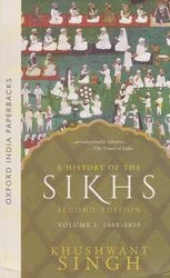 A History Of The Sikhs Vol. 2 Book