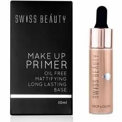 Matte Swiss Beauty Makeup Primer, Packaging Size: 30 Ml