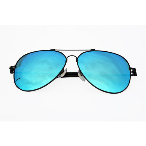 49a9d38090ddc Male Versario Italy Mens Metal Frame Blue Sunglasses