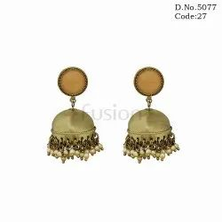 Traditional Indian Jhumka Earring