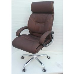 Brown Office Leather Chair