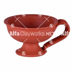 Earthen Incense Burner with Handle