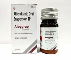 Albendazole 200mg Oral Suspension IP