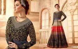 Glorious Embroidered Anarkali Salwar Kameez
