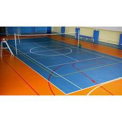 Indoor Volleyball Court Flooring, Globe