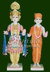 Marble Swami Narayan Bhagwan Statue