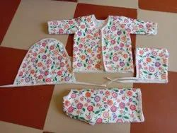Unisex printed New Born Baby Hospitals Dress, Age Group: 0-1yr