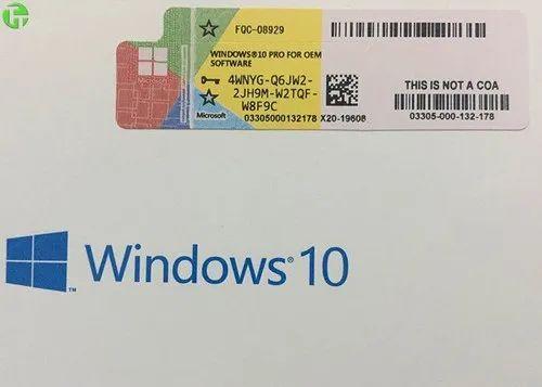 Microsoft Windows 10 64bit OEM License