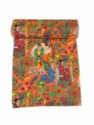 Hand Stitched Kantha Work Gudari Cotton Kantha Quilt