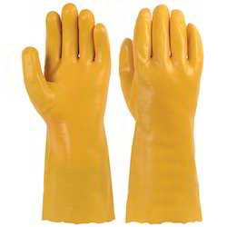PVC Gloves for Chemical Handling