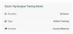 Oracle 10g Designer Training Course