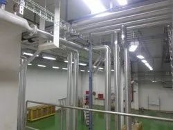 Utility Line For Chilled Water Piping System