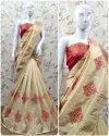 Riva Enterprise Cotton Silk With Amazing Embroidery Work Saree