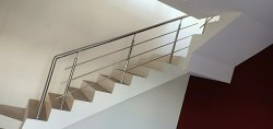 Silver Stainless Steel Railing for Home