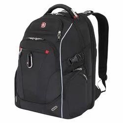 Nylon Black, Blue Back Pack
